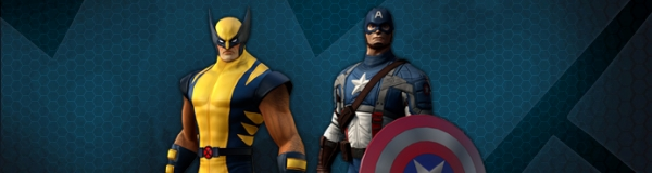 Скидки на Росомаху и Капитана Америка в Marvel Heroes
