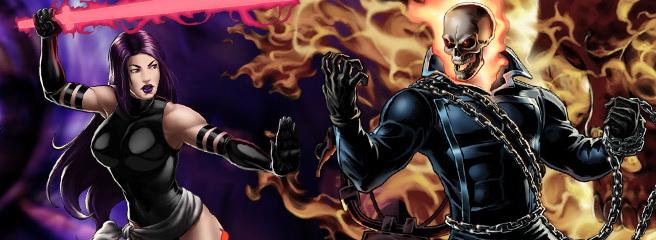 Marvel Heroes: изменения Псайлок, Призрачного Гонщика и других героев