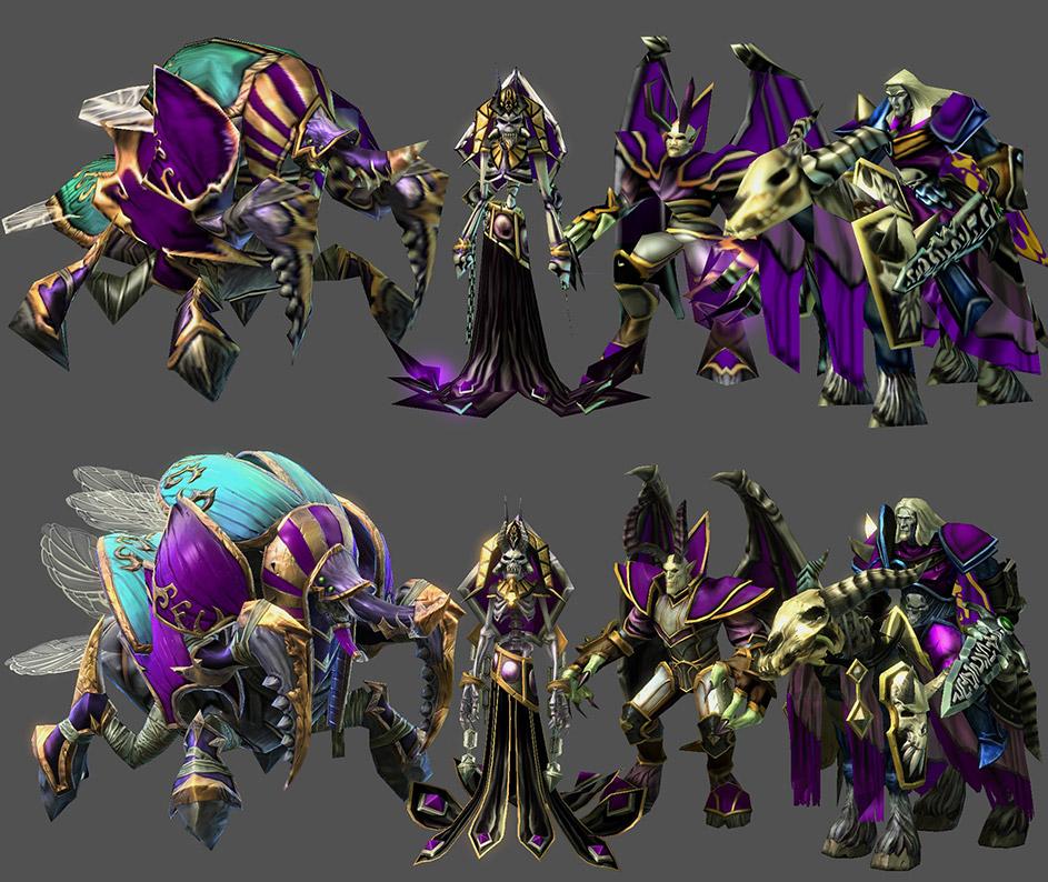 StarCraft II: в редакторе доступны модели из WarCraft III - GlassCannon