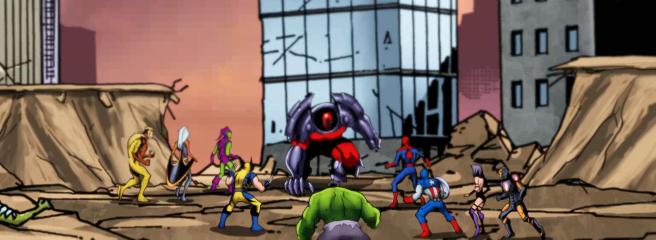 Marvel Heroes: началось тестирование рейда AXIS