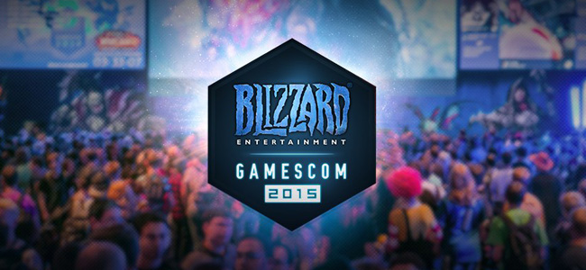 Blizzard Entertainment на Gamescom 2015