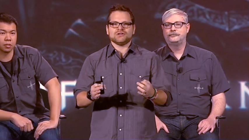 Джош Москейра рассказывает о Diablo III на BlizzCon 2013.