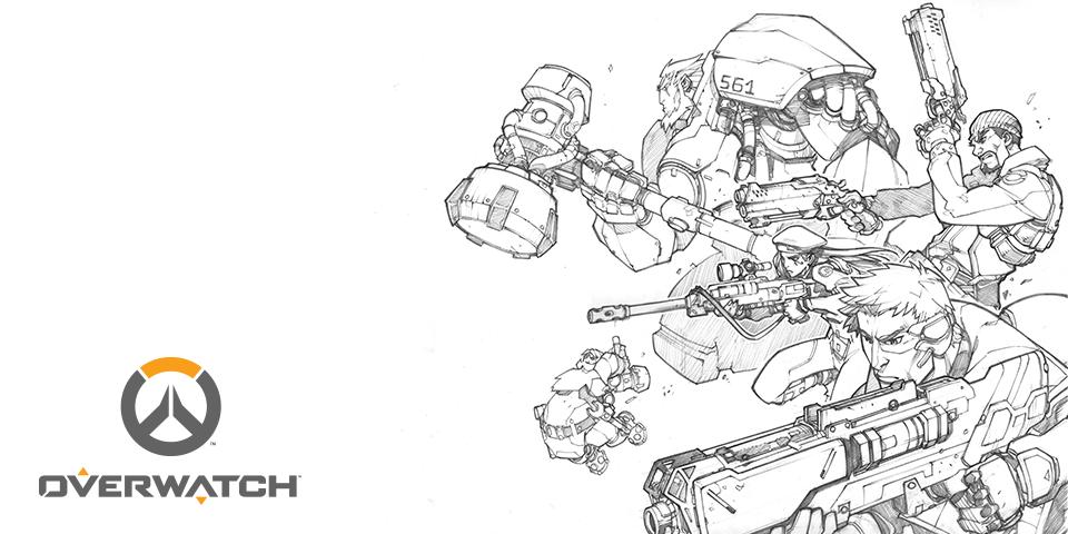 Overwatch: комикс-предыстория