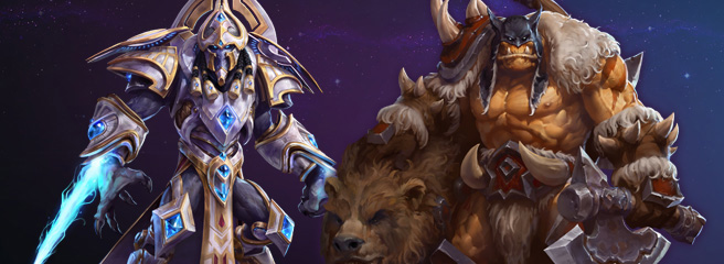 Heroes of the Storm: новые герои - Рексар и Артанис