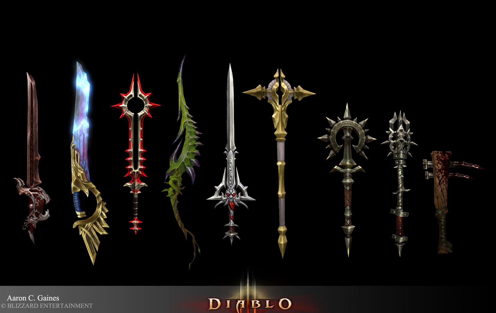 Blizzcon 2015. Diablo 3 QuickTalks. The Art of Iconic Items