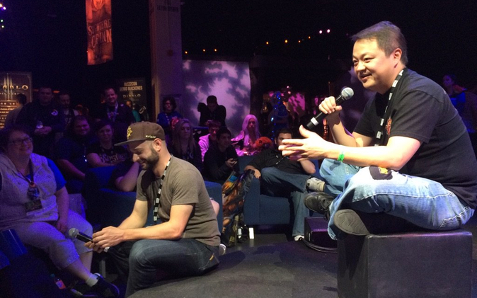 Blizzcon 2015. Diablo 3 Quick Talks. Story Time with Wyatt Cheng