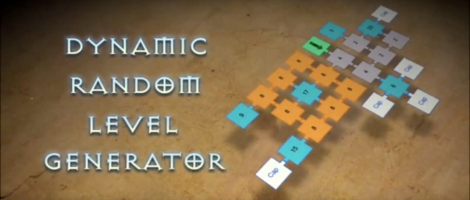 Diablo 3 - Dynamic Random Level Generator. Reaper of Souls Making of DVD