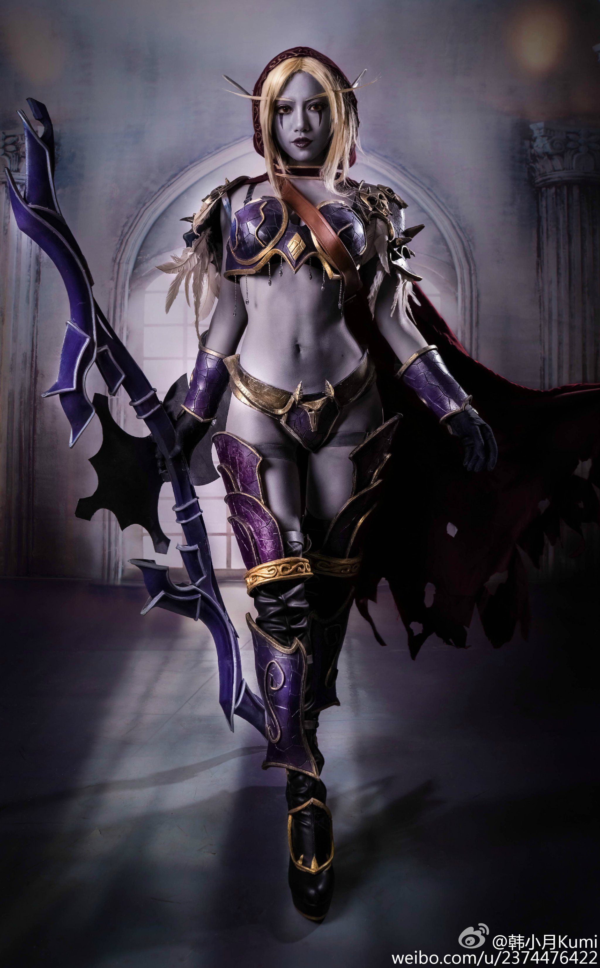 Wow sylvanas cosplay naked tubes