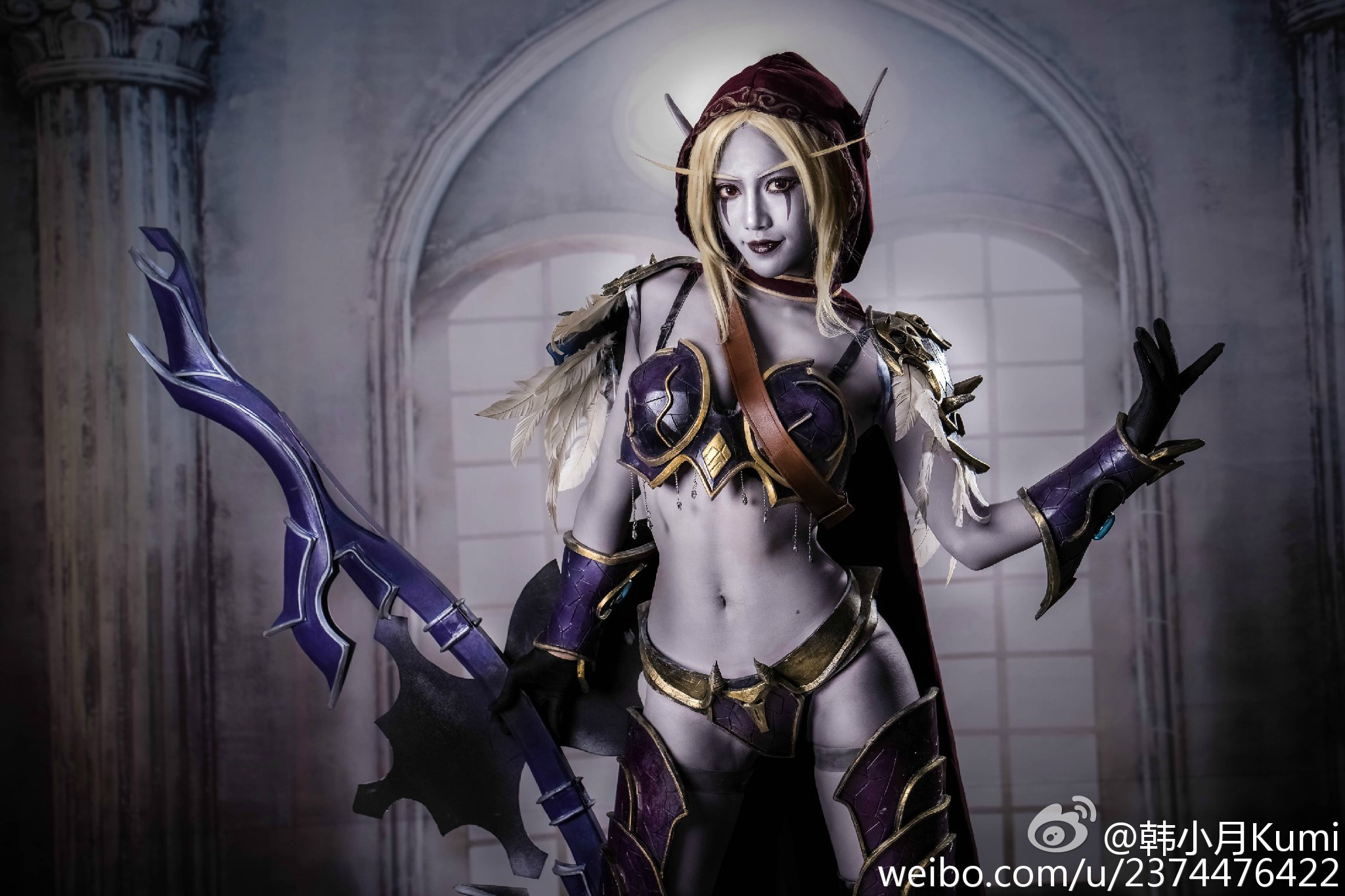 Lady Sylvanas lingerie exposed video