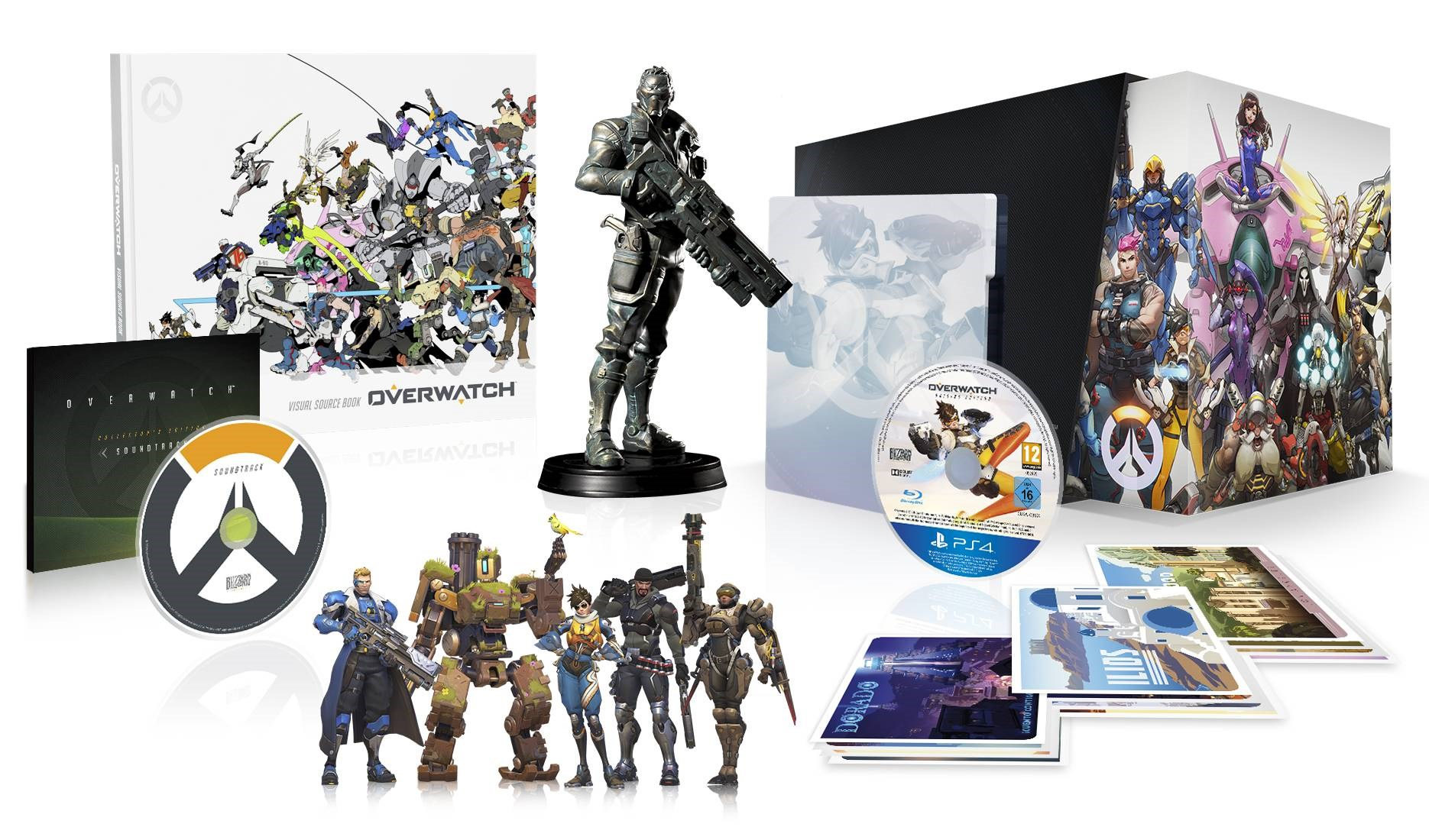 Overwatch: розничные комплекты предзаказа и коллекционное издание