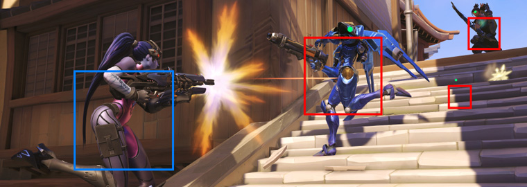Overwatch: позиция разработчиков относительно aimbot и wallhack