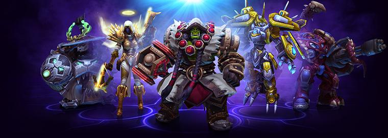 Heroes of the Storm: больше золота и опыта в матчах командной лиги