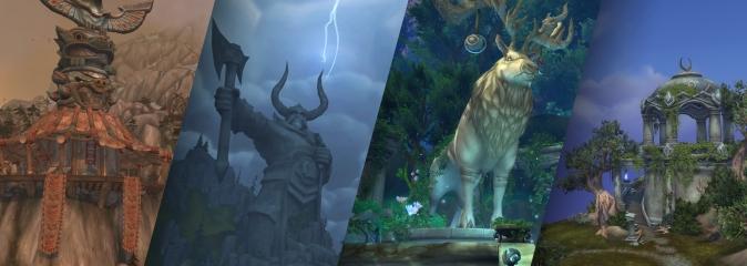 World of Warcraft: развитие персонажей на Расколотых островах