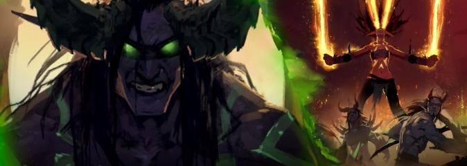 World of Warcraft: Предвестники — история Иллидана