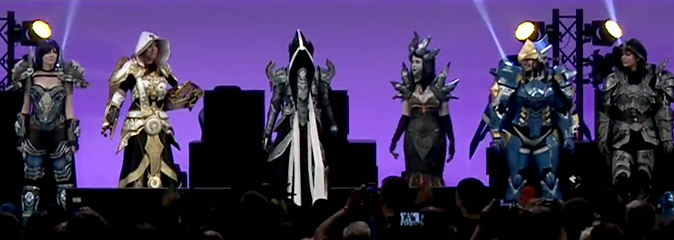 Blizzard Entertainment на gamescom 2016 — конкурс косплея