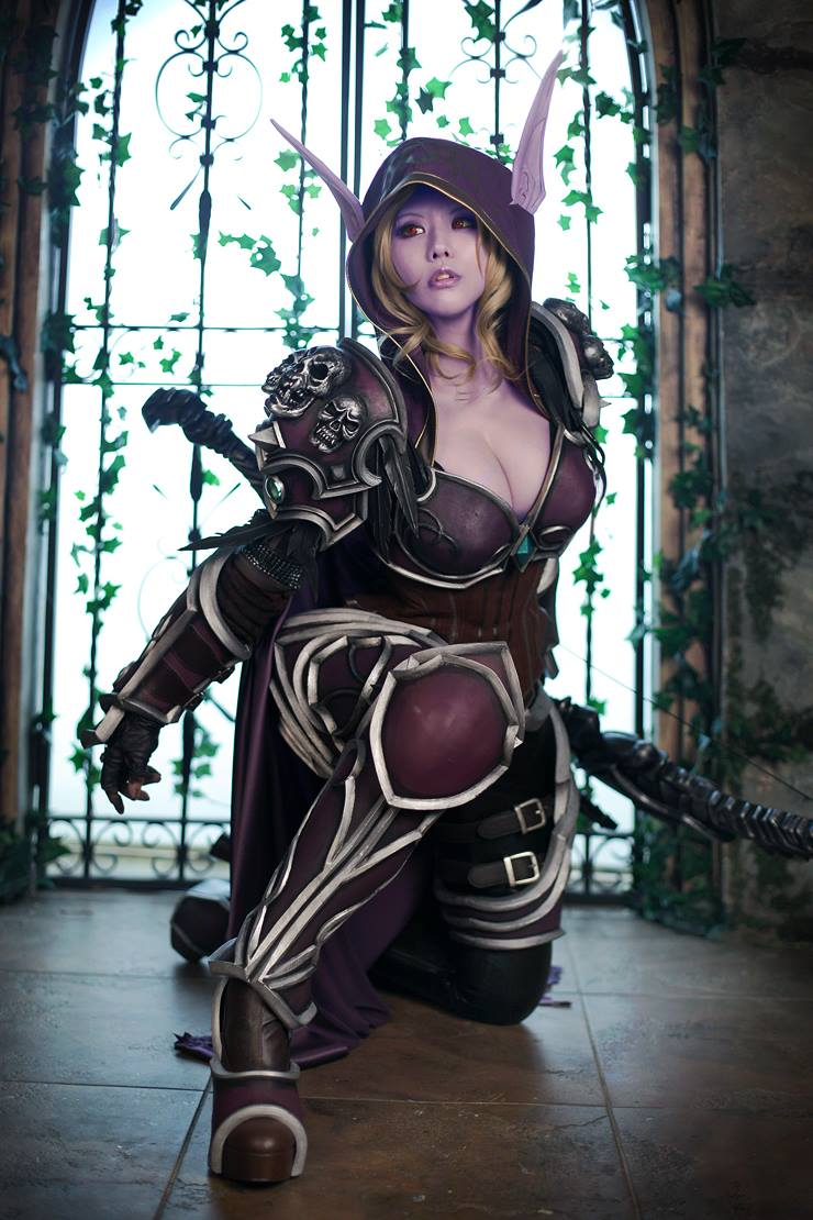 Wow sylvanas cosplay adult picture