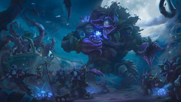 Heroes of the Storm: показано поле боя Сад Ужасов