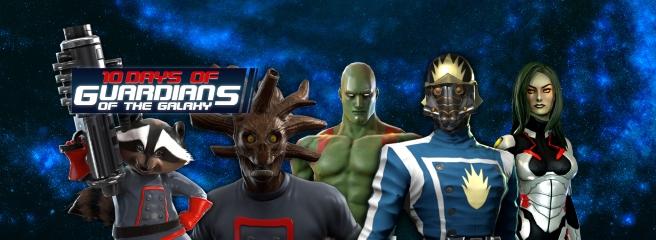 Marvel Heroes: 10 дней Стражей Галактики