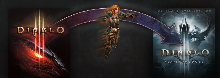 Diablo III: доступен перенос консольных сохранений