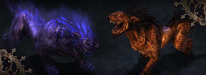 Grim Dawn: жуткий зверинец третьего Акта