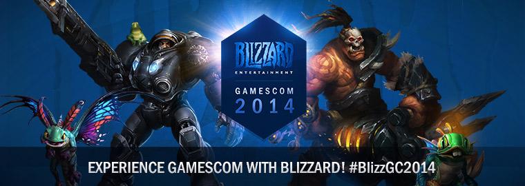 Blizzard: прямая трансляция с выставки gamescom 2014