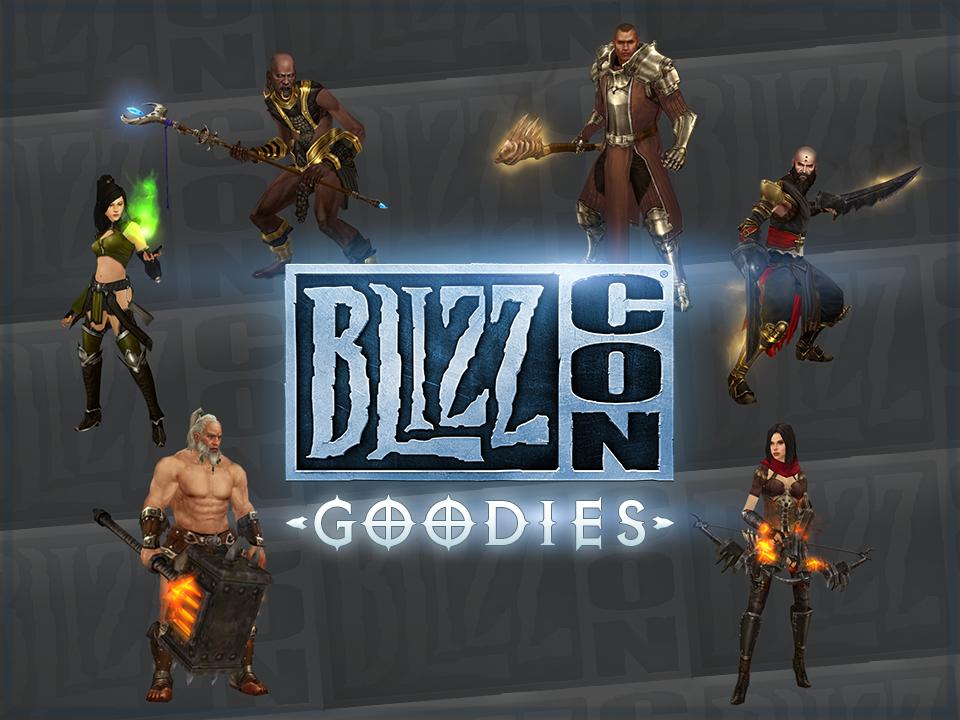 BlizzCon 2014: внутриигровые подарки