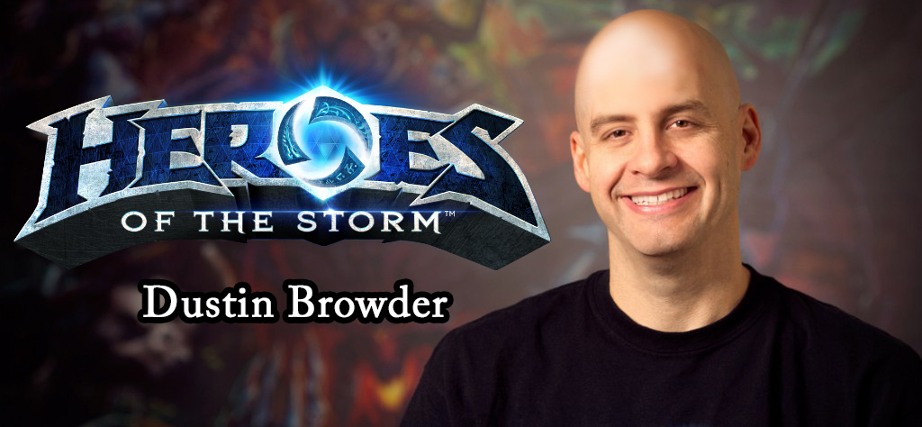 Heroes of the Storm: Интервью с Дастином Броудером