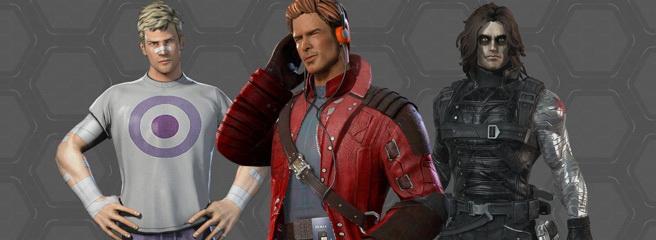 Marvel Heroes: вариативные костюмы