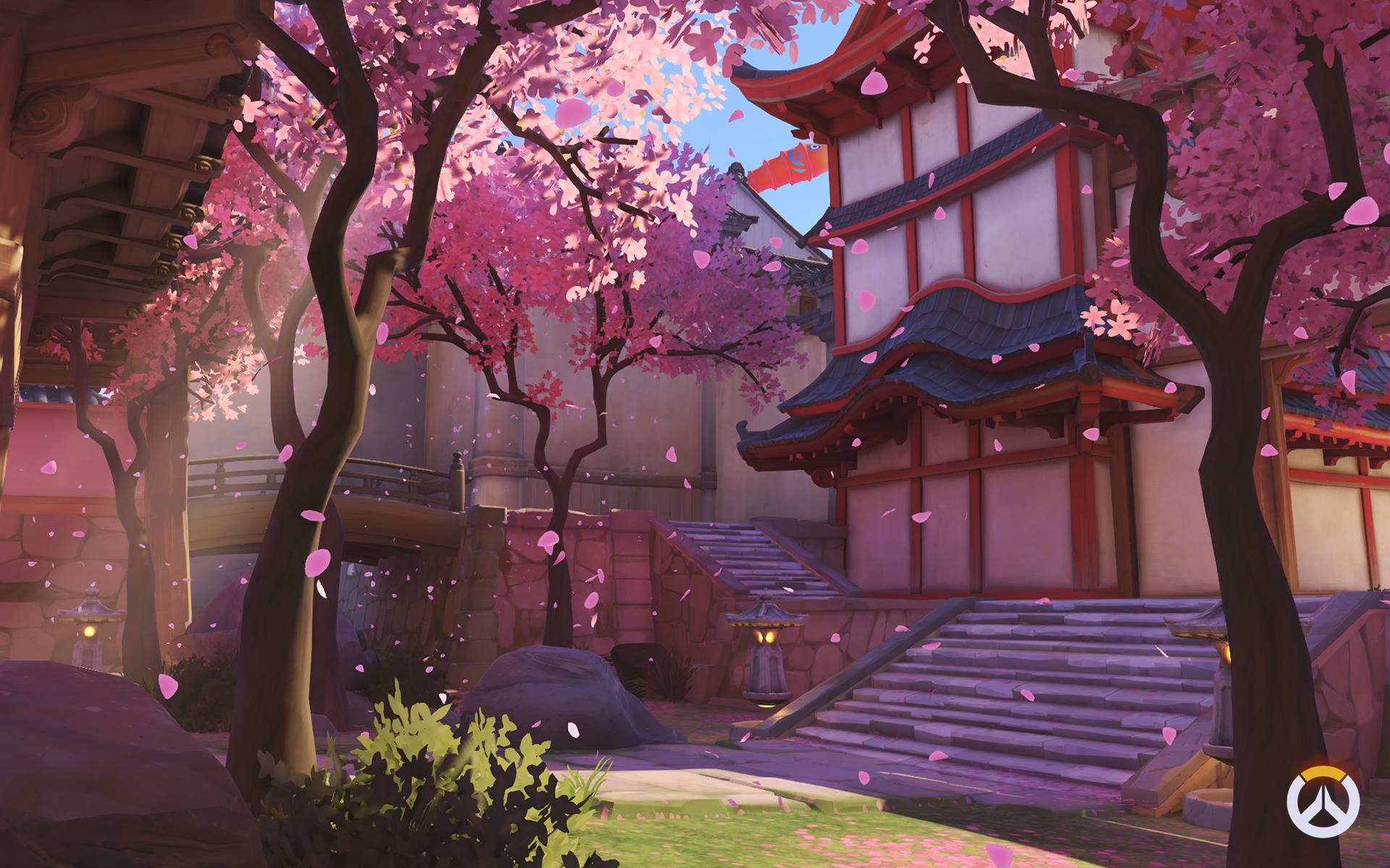 Overwatch: новые скриншоты карт