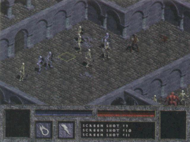 Ранняя пошаговая версия Diablo, основанная на игровой механике X-COM.
