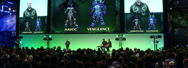 World of Warcraft: презентация Legion на gamescom 2015