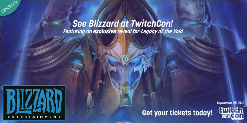 Blizzard на TwitchCon 15