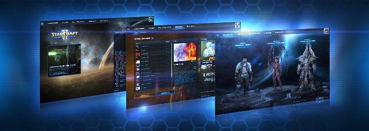 StarCraft II: новый пользовательский интерфейс