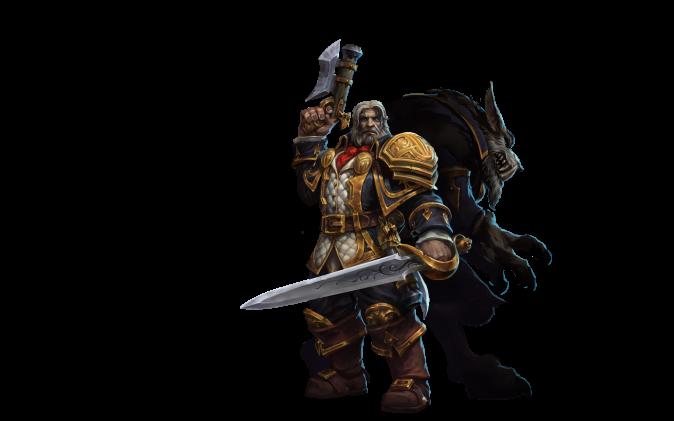 Heroes of the Storm: новые герои и поля боя c BlizzCon 2015 - GreymaneWorgen