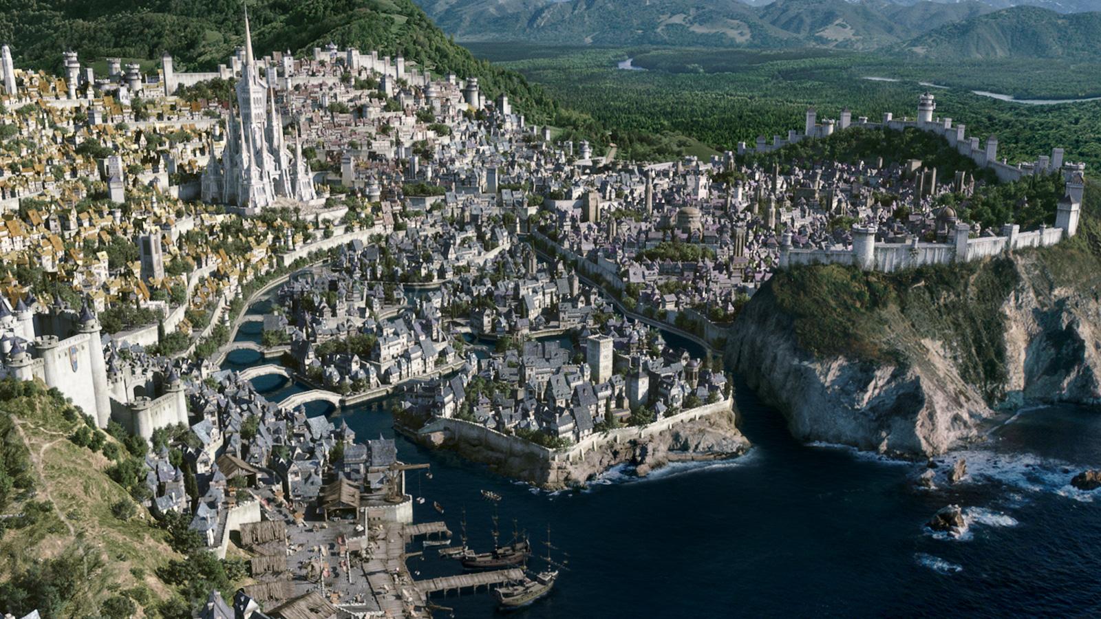 Warcraft: обновленный сайт и панорама Штормграда