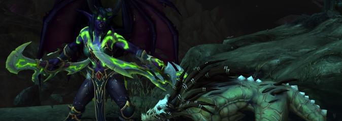 World of Warcraft: видео игрового процесса за охотника на демонов