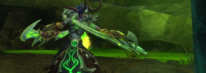 World of Warcraft: Дневник Стеклопушки, запись 1 - Легион падет!