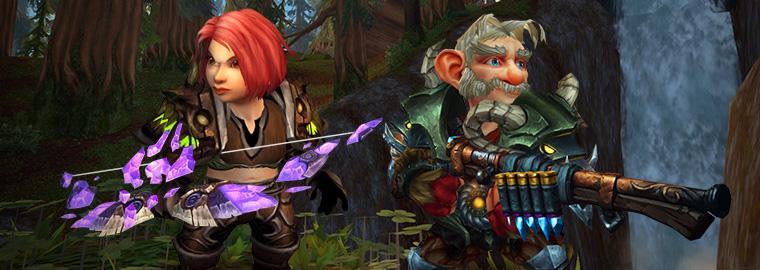 World of Warcraft: гномы-охотники и механические питомцы