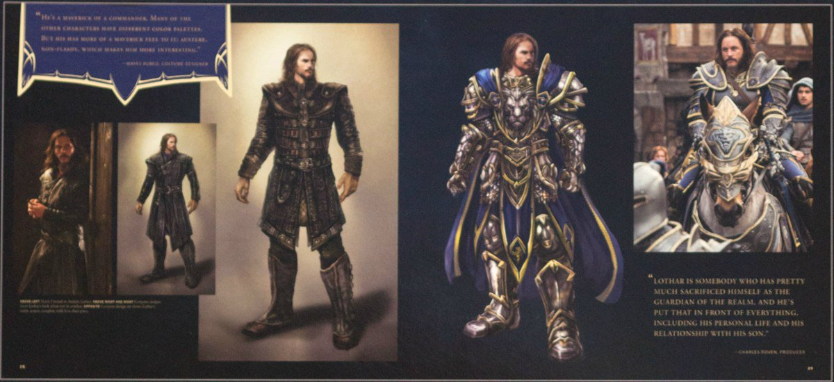 Warcraft Lothar art