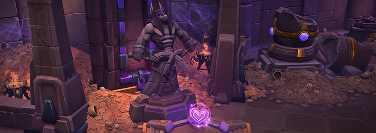Heroes of the Storm: новое поле боя - «Затерянный грот»