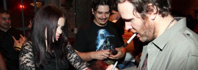 Роберт Брайденбекер на запуске World of Warcraft в Бразилии