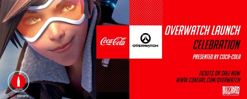 Overwatch: празднование выхода игры в кинотеатрах