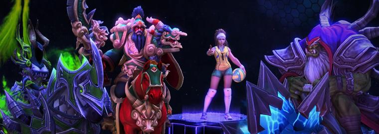 Heroes of the Storm: новые герои, облики и транспорт