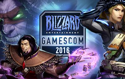 Blizzard Entertainment на gamescom 2016 thumb