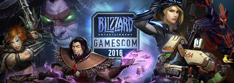 Blizzard Entertainment на gamescom 2016 — итоги