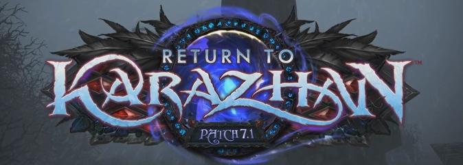 World of Warcraft: анонс обновления 7.1 - Возвращение в Каражан