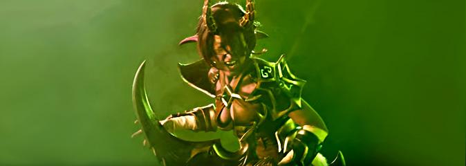 World of Warcraft: Оружейная Азерота — косплей «Охотница на демонов»