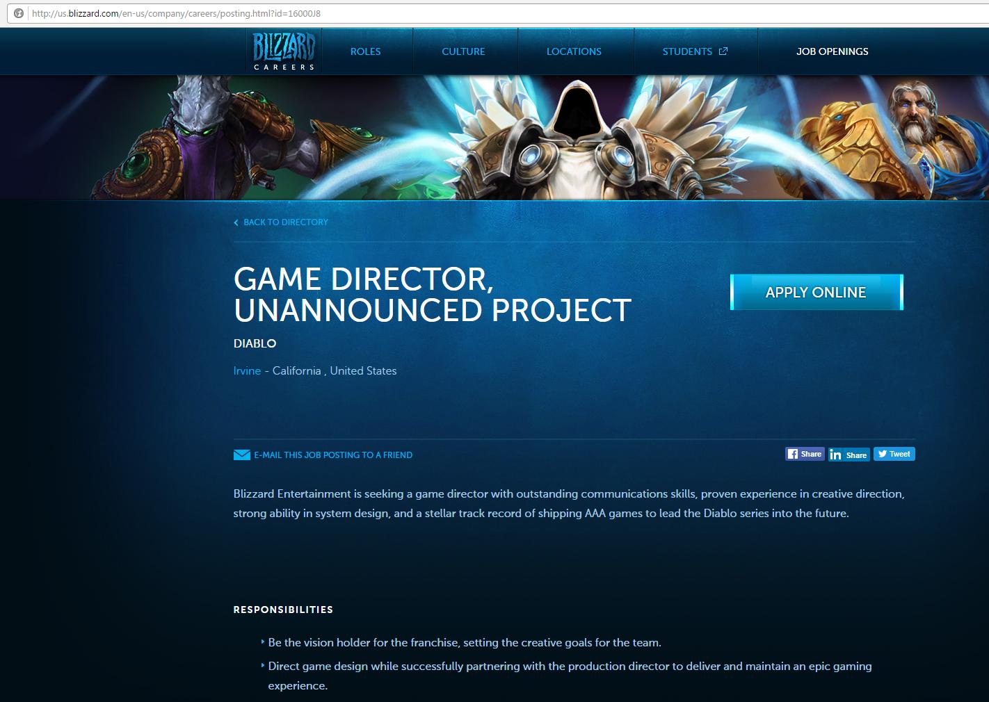 игровой сайт вакансии