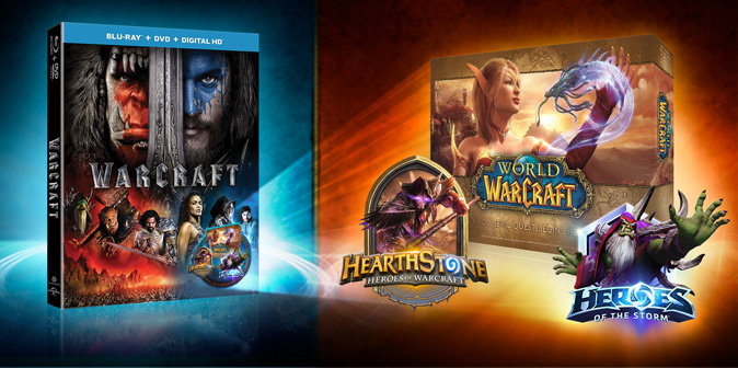World of Warcraft: подарки за покупку фильма «Варкрафт» на Blu-ray и DVD