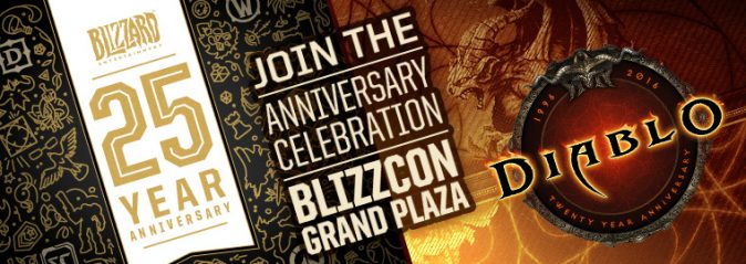 BlizzCon 2016: сюрпризы на праздновании 25 лет Blizzard и 20 лет Diablo